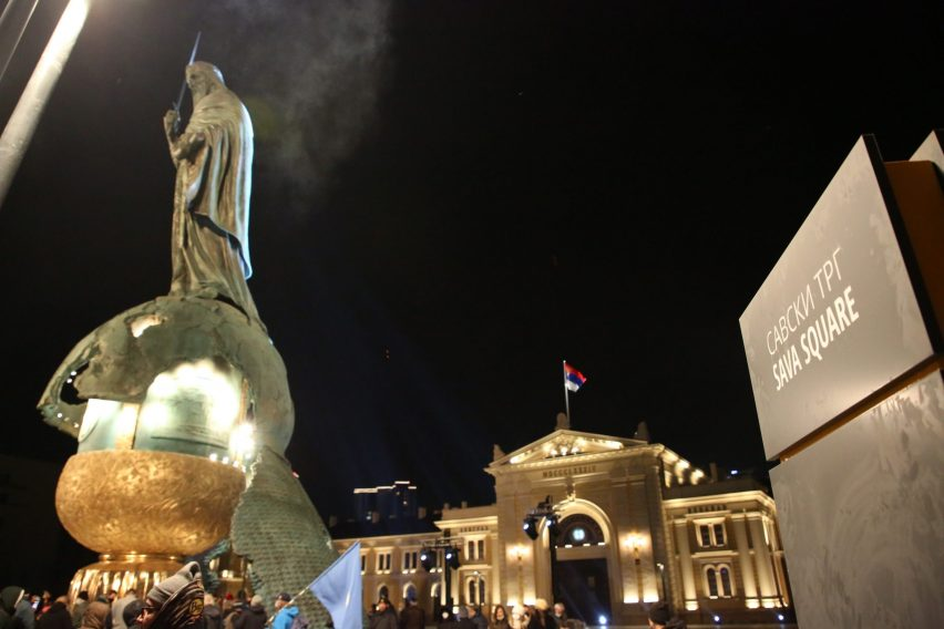 Grand Opening of Sava Square - the Biggest Square in Serbia photo 4